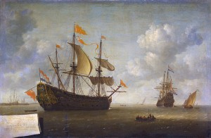 De toeristenattractie op weg naar Nederland. (Jeronymus van Diest)