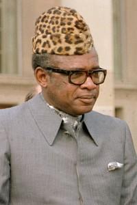 King Jaffe Jofer, oh nee wacht Mobutu Seke Seke