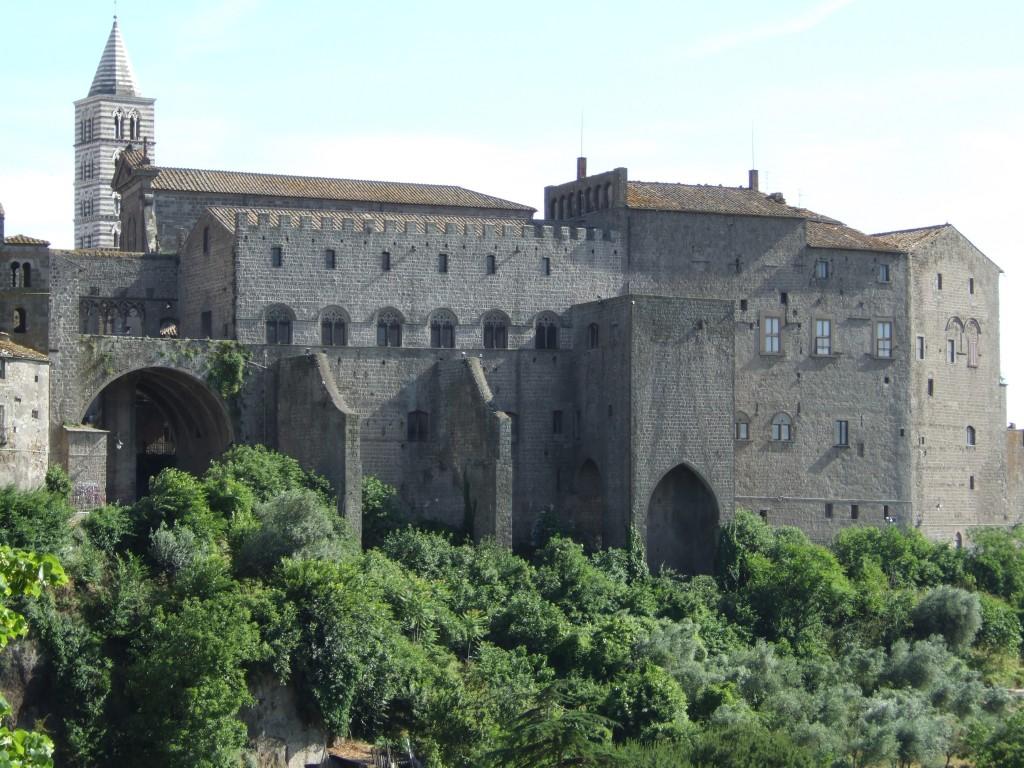 Met dak was het pauselijk paleis een stuk comfortabeler