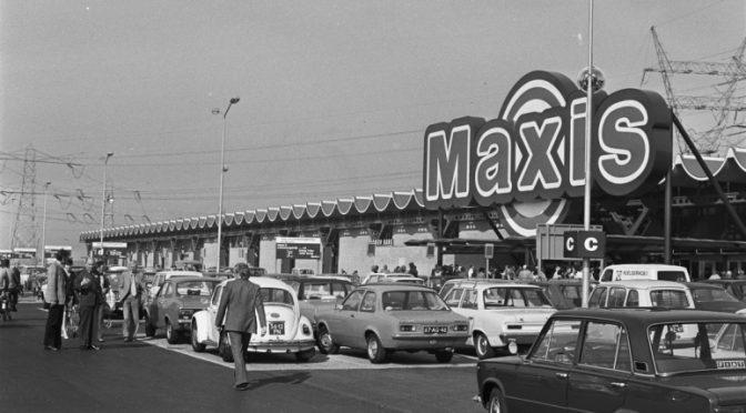 foto van de Maxis in de jaren 70 toen de roof plaatsvond